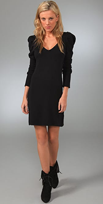 Bop Basics V Neck Sweater Dress