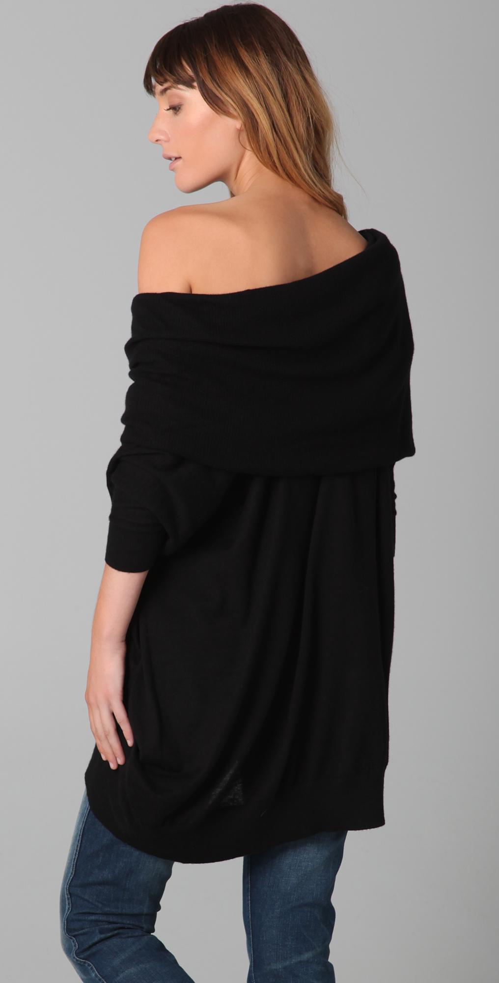d3bc8e20bb5 Bop Basics Oversized Cashmere Cowl Neck Sweater