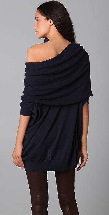 Bop Basics Oversized Cashmere Cowl Neck Sweater