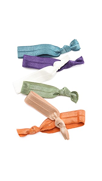 Bop Basics Solid Vintage Hair Tie Set