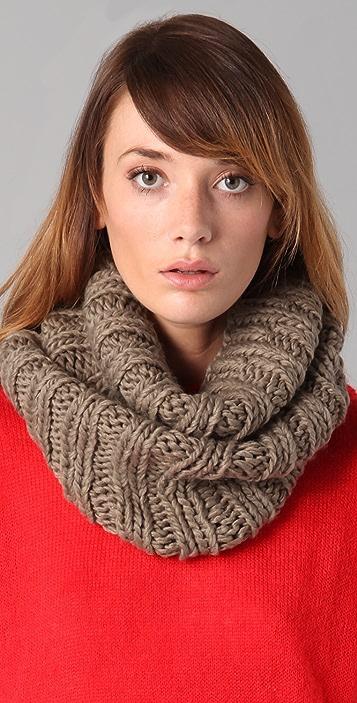 Bop Basics Thick Knit Collar Scarf