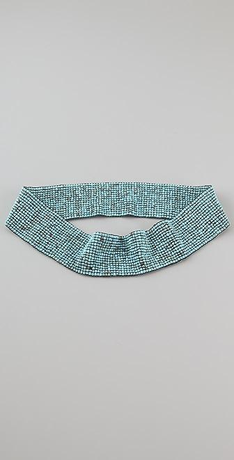 Bop Basics Glass Bead Elastic Belt
