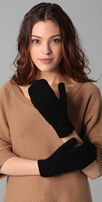 Bop Basics Pop Top Fingerless Gloves