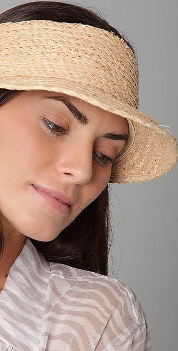 Bop Basics Raffia Braid Visor