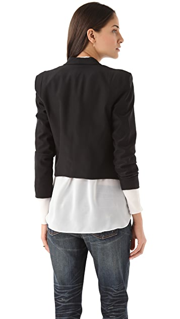 Bop Basics Draped Jacket