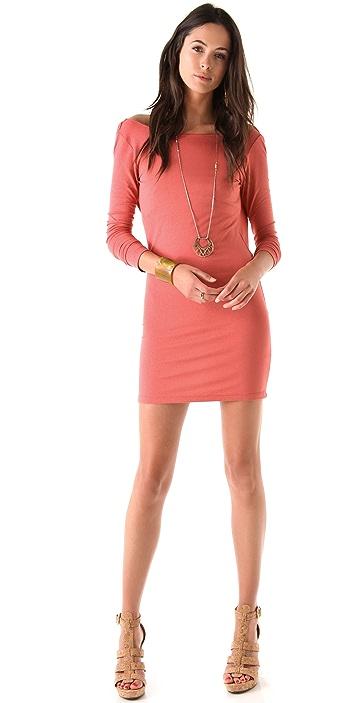 Bop Basics Draped Tracy Dress