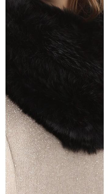 Bop Basics Fur Infinity Scarf