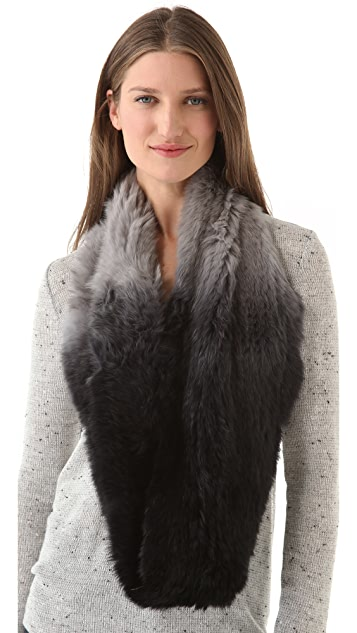 Bop Basics Ombre Fur Infinity Scarf