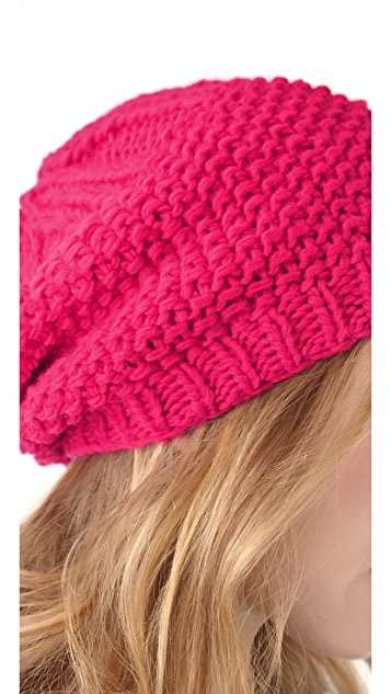 Bop Basics Thick Knit Slouchy Hat