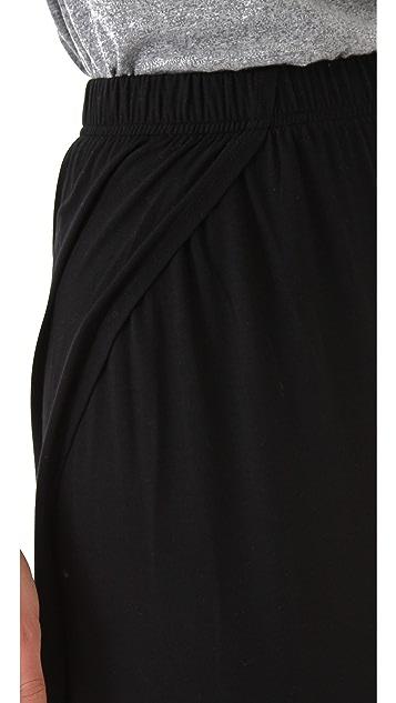 Bop Basics Asymmetrical Maxi Skirt