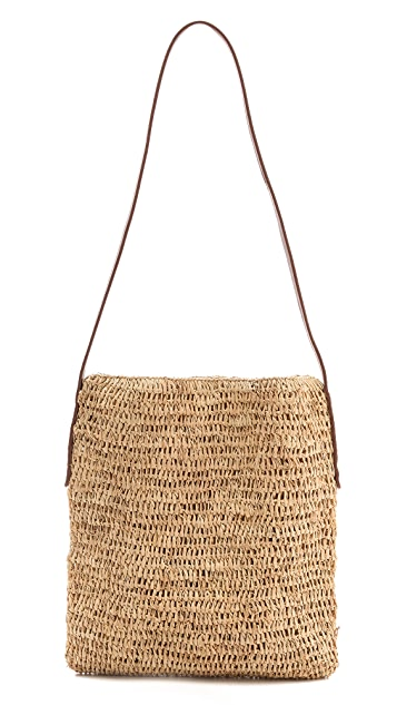 Bop Basics Straw Cross Body Bag