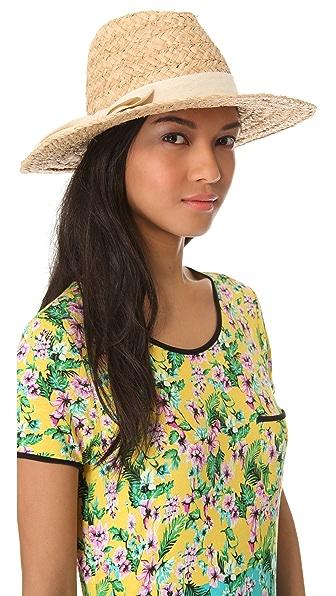 Bop Basics Thick Raffia Continental Hat