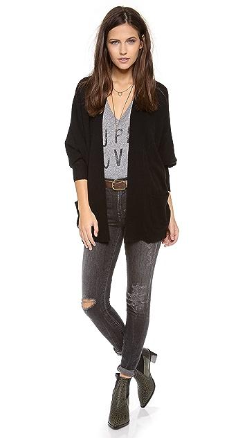 Bop Basics The Ashbury Cashmere Cardigan Sweater