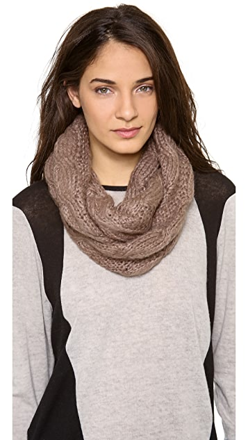 Bop Basics Thick Knit Double Eternity Scarf