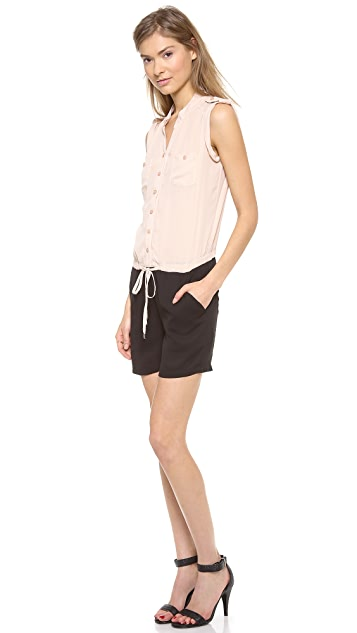 Bop Basics Sleeveless Romper