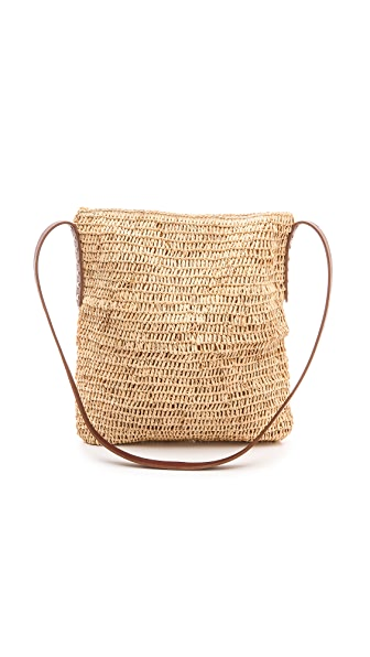 Bop Basics Raffia Cross Body Bag