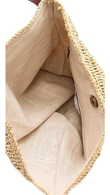 Bop Basics Raffia Cross Body Bag