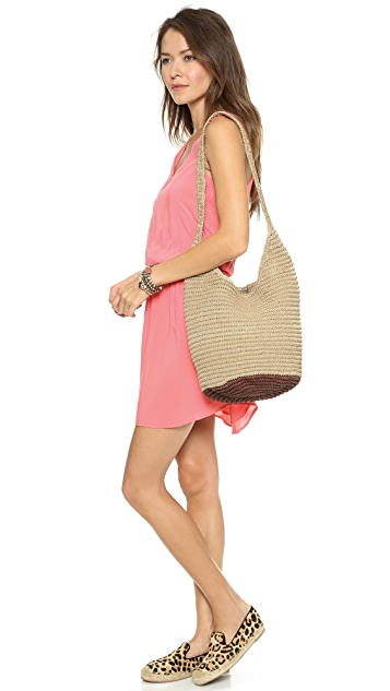 Bop Basics Twisted Colorblock Hobo