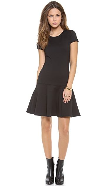 Bop Basics Short Sleeve Flare Dress