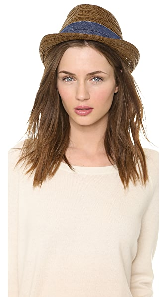 Bop Basics Textured Braid Fedora