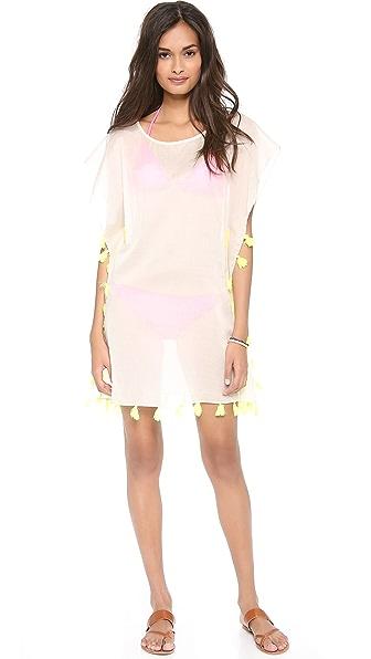 Bop Basics Lulu's Fringey Cover Up Dress