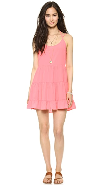 Bop Basics Multi Tier Ruffle Dress