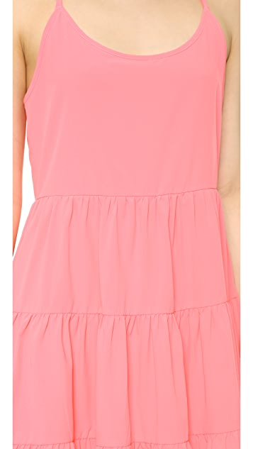 Bop Basics Multi Tier Ruffle Dress
