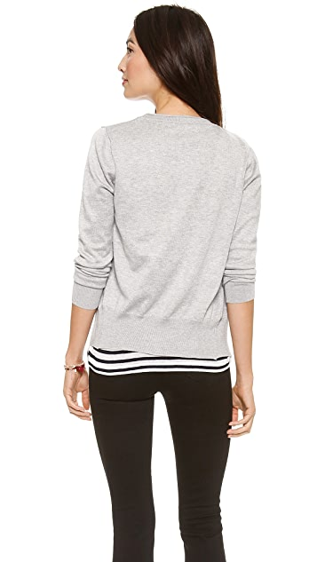 Bop Basics The V Neck Cardigan