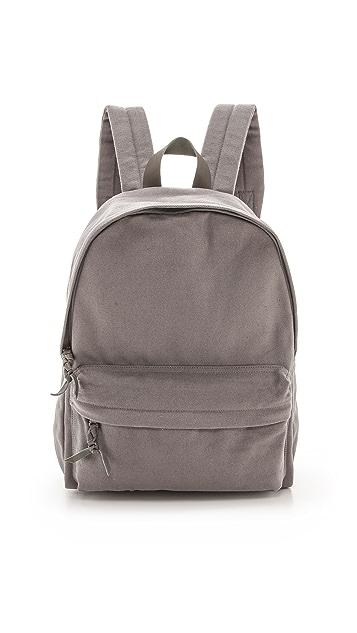Bop Basics Leather Trimmed Backpack