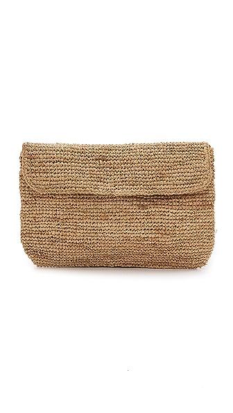 Bop Basics Raffia Crochet Clutch