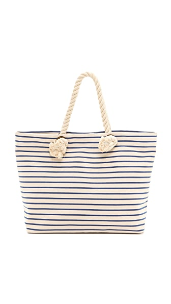 Bop Basics Canvas Beach Tote with Rope Handles | SHOPBOP