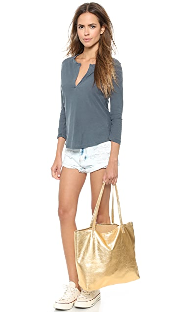 Bop Basics Metallic Basic Tote