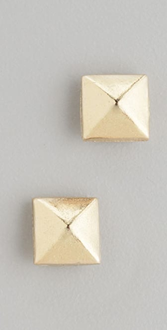 Bop Bijoux Pyramid Stud Earrings