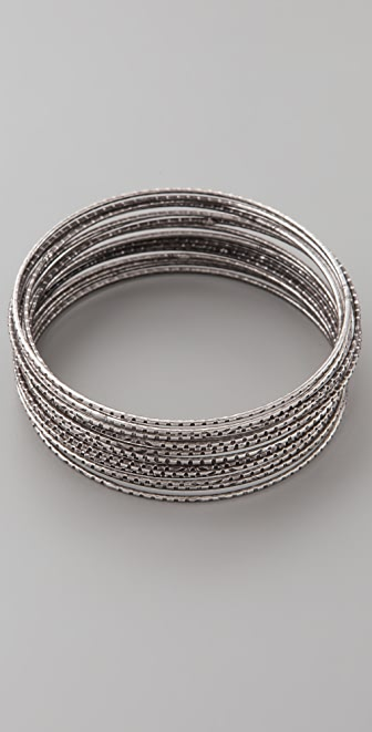 Bop Bijoux Super Thin Bangle Set
