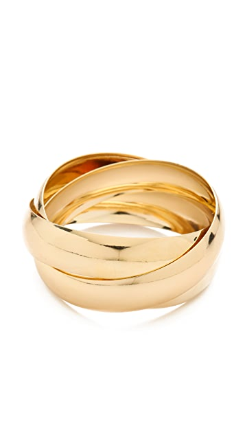 Bop Bijoux Interlocking Bangle Set