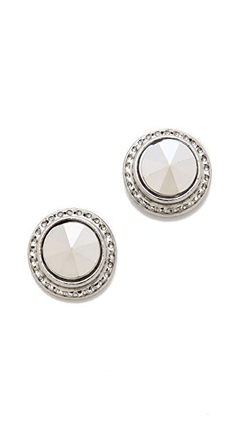 Bop Bijoux Spike Button Earrings