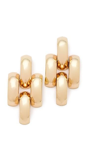 Bop Bijoux Chain Link Earrings