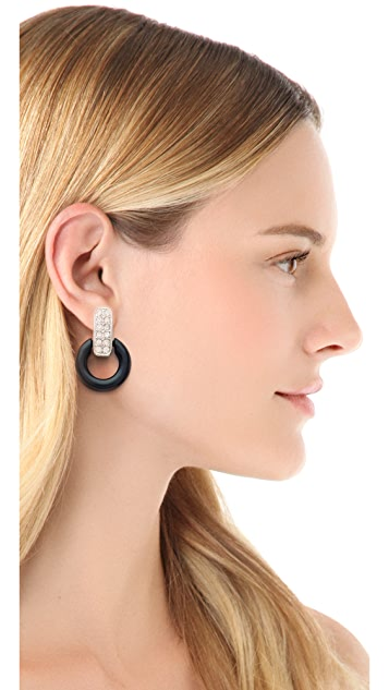Bop Bijoux Rock Circle Earrings
