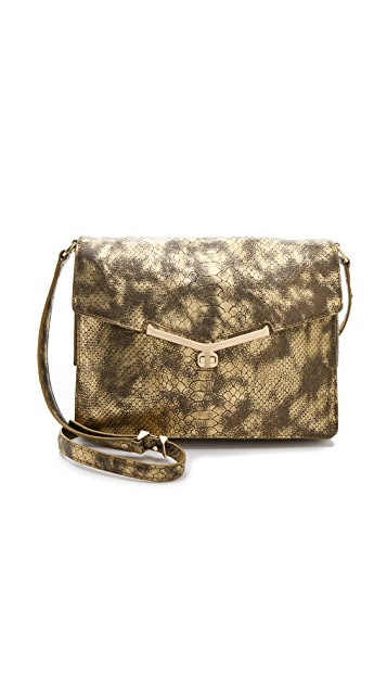Botkier Valentina Metallic Shoulder Bag