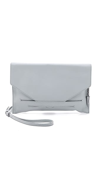 Botkier Hampton Clutch - Steel