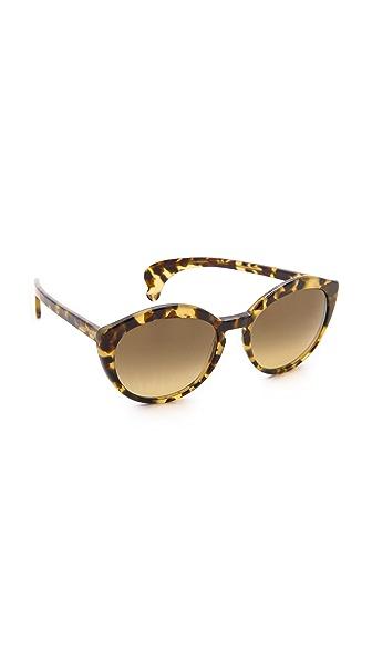 Bottega Veneta Cross Sunglasses