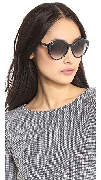 Bottega Veneta Cross Sunglasses