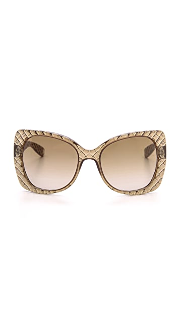 Bottega Veneta Butterfly Sunglasses