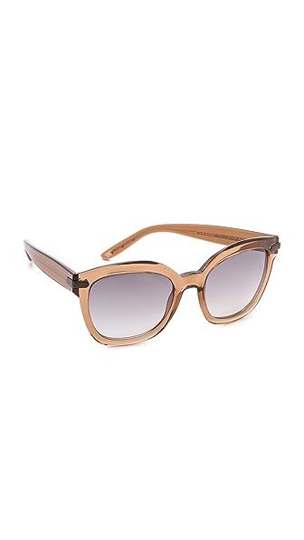 Bottega Veneta Thick Frame Sunglasses