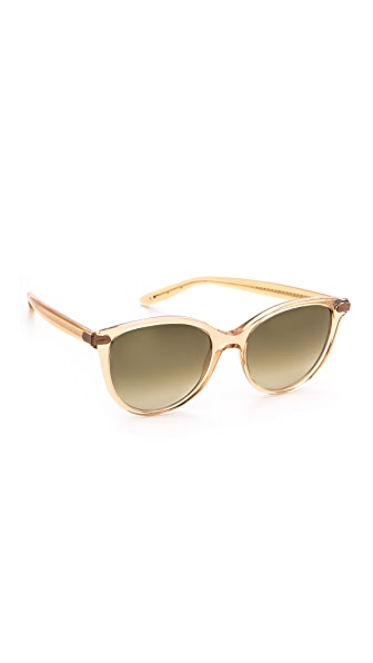 Bottega Veneta Round Cat Eye Sunglasses