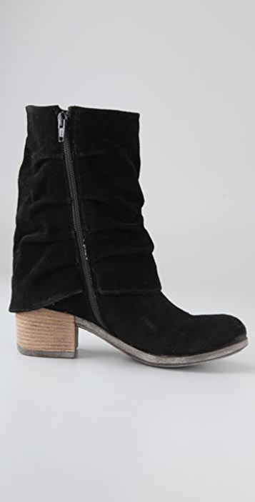 Boutique 9 Freeze Long Cuff Suede Booties