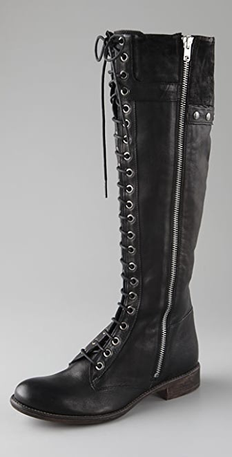 Boutique 9 Randall Lace Up Flat Boots