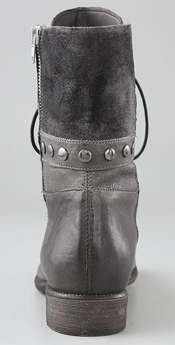 Boutique 9 Rivit Lace Up Flat Boots