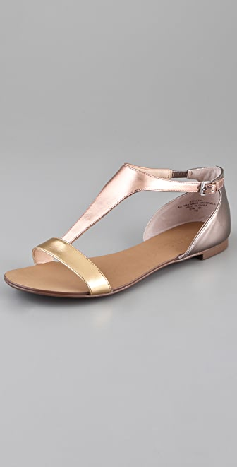 Boutique 9 Piraya T Strap Flat Sandals