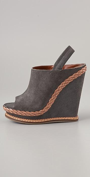 Boutique 9 Georgetta Suede Wedge Sandals